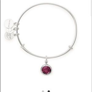 Alex and Ani Amethyst bangle braclet